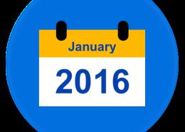 January 2016 Calendar Element 455x450